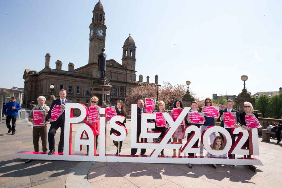 Show of support as For Paisley 2021 campaign launches