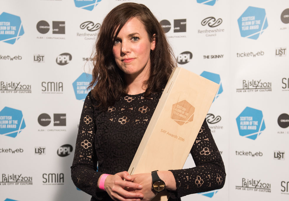 Anna Meredith is Scottish Album of the Year winner