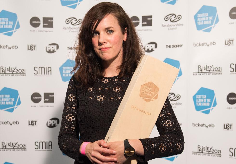 Anna Meredith is Scottish Album of the Year winner