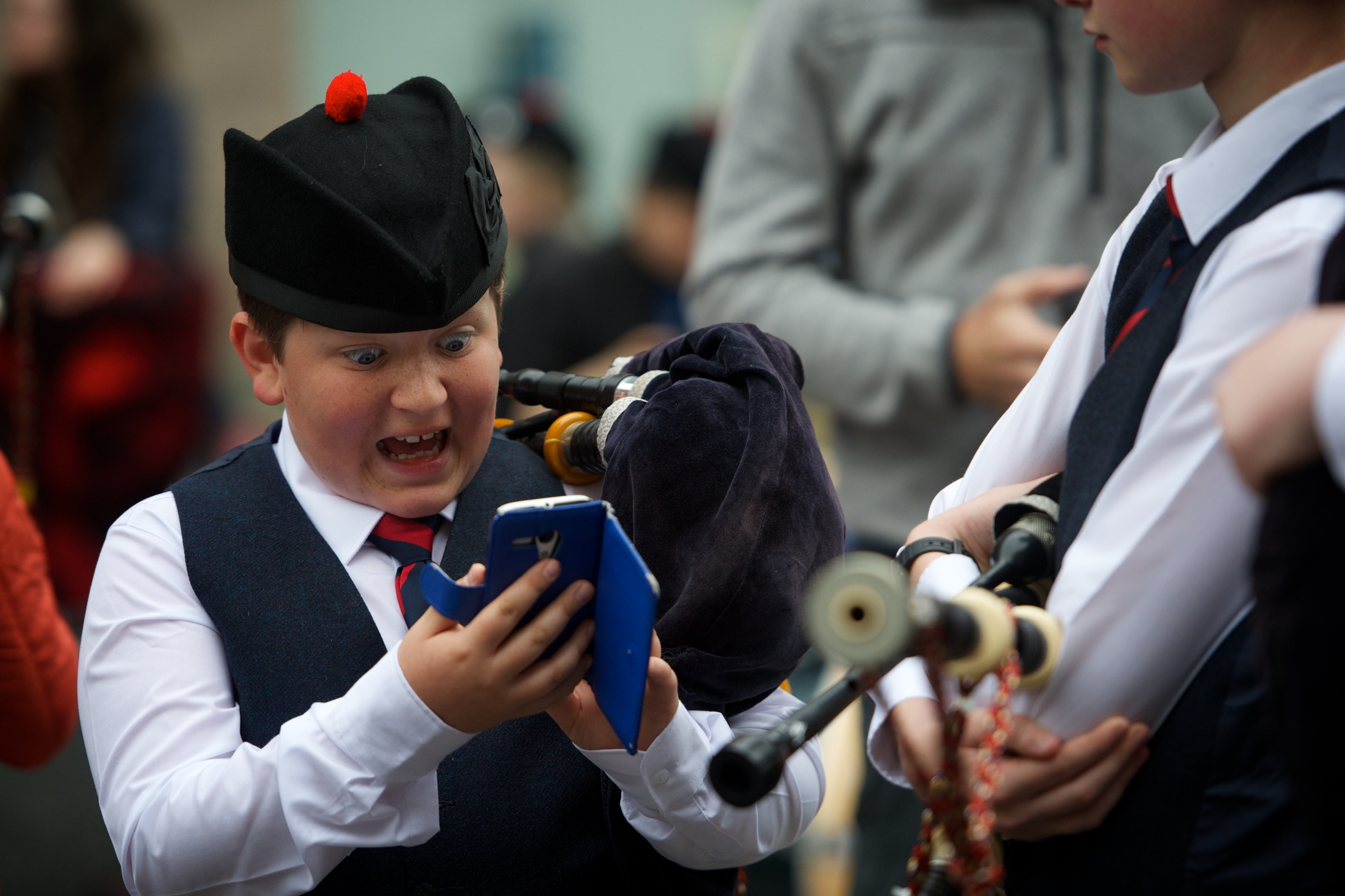 Performances are piping hot at Paisley Championships