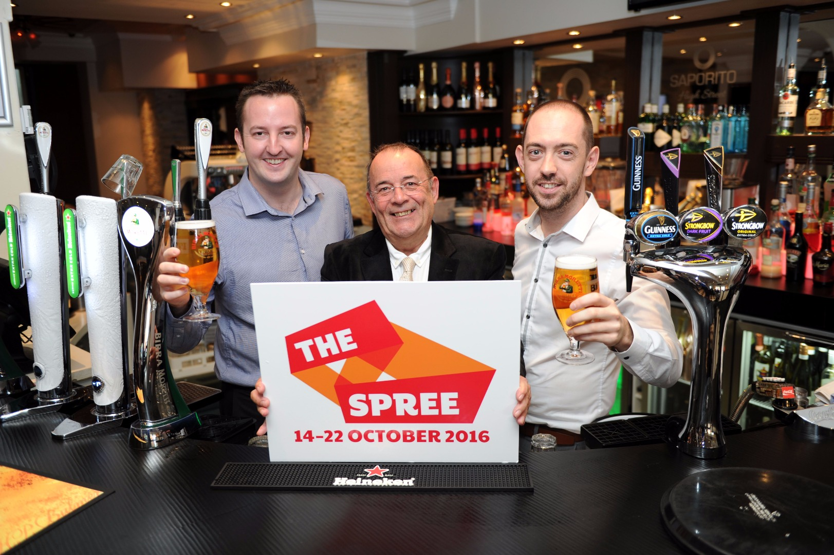 Spree festival raises a glass to official supporters Saporito