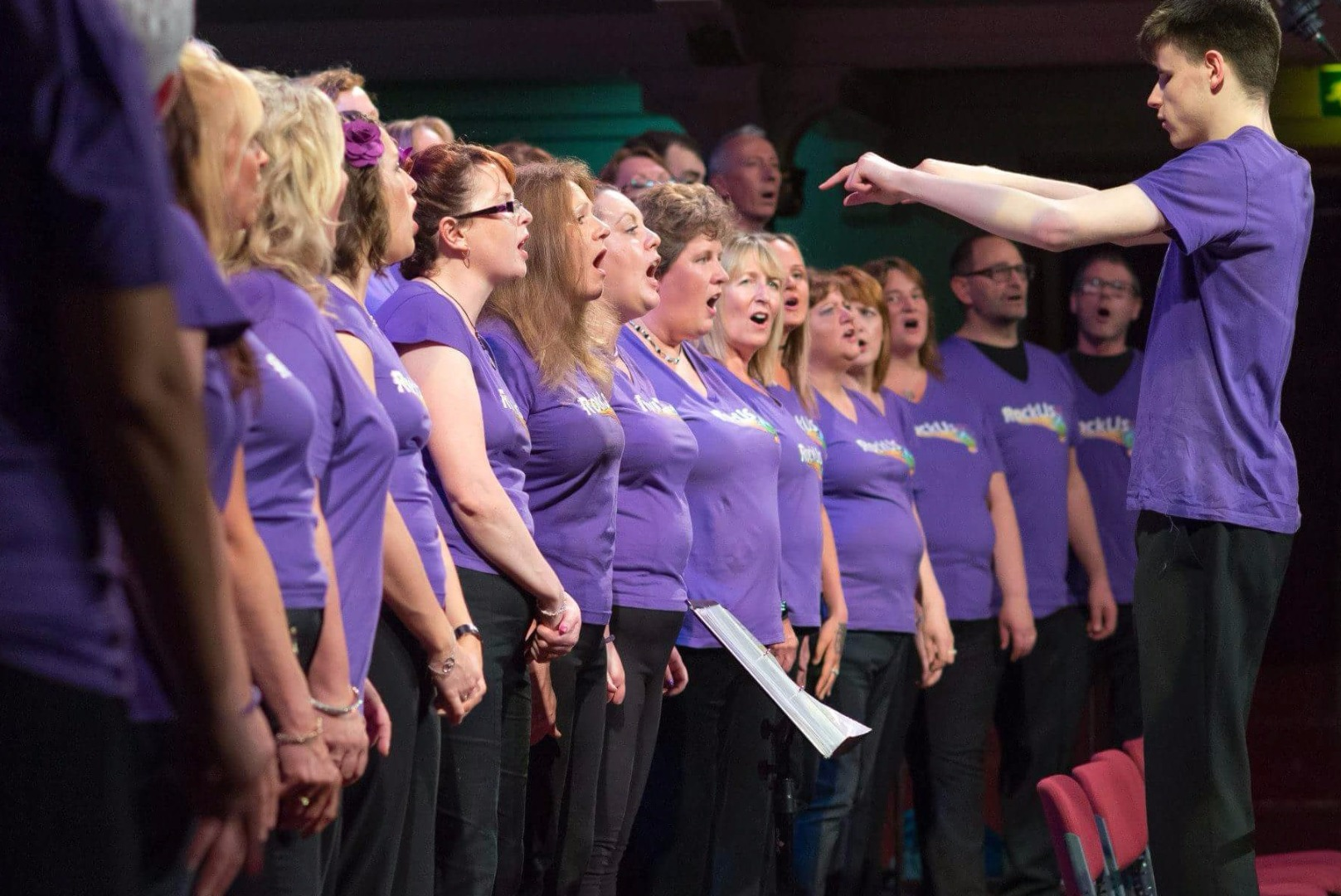 Renfrewshire gets singing with Spree-mendous RockUs Choir