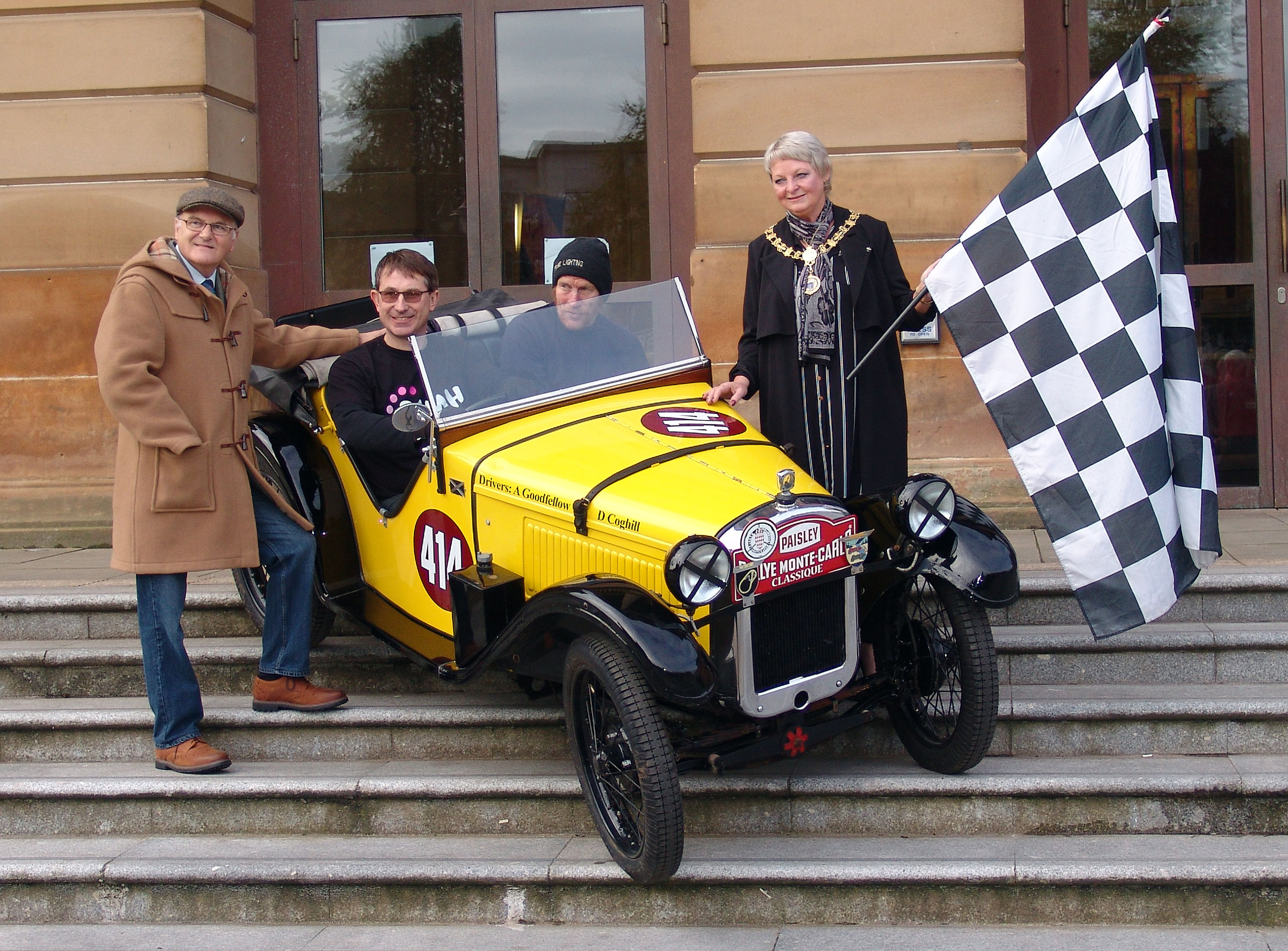 Monte Carlo Rally to come back to Paisley