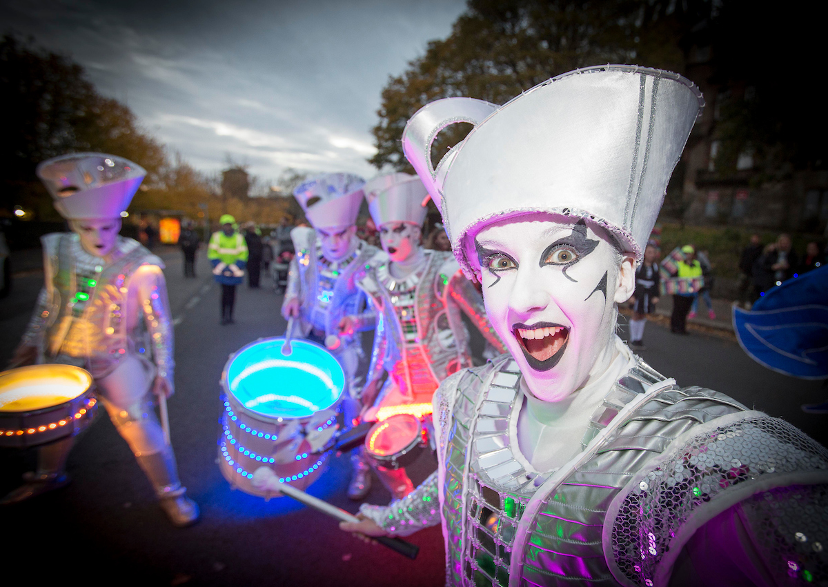 Thousands enjoy Paisley's Halloween spooktacular