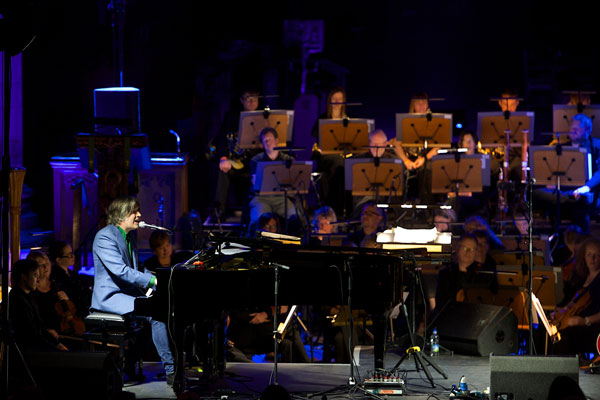 Justin Currie at Paisley Abbey