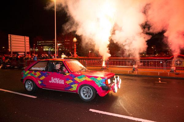 Paisley 2021 car at Monte Carlo