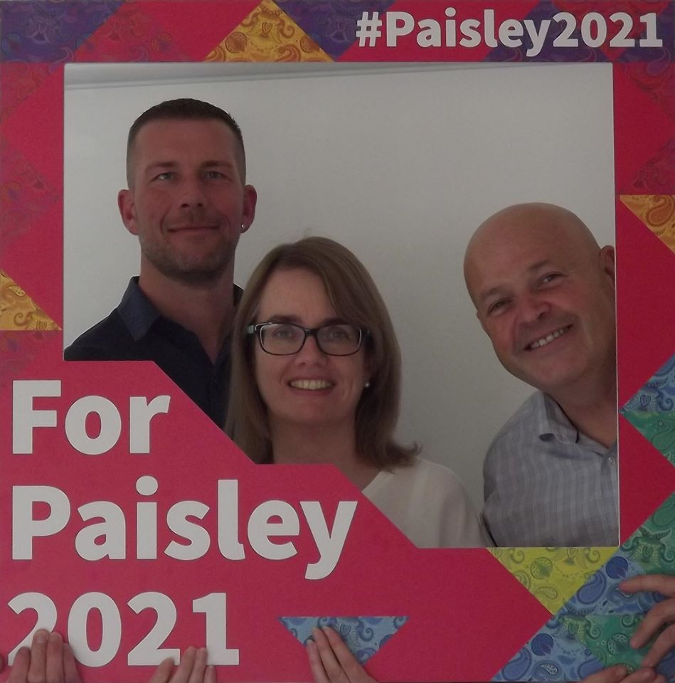 Guest blog: Linstone Housing Association on becoming an ambassador for Paisley 2021