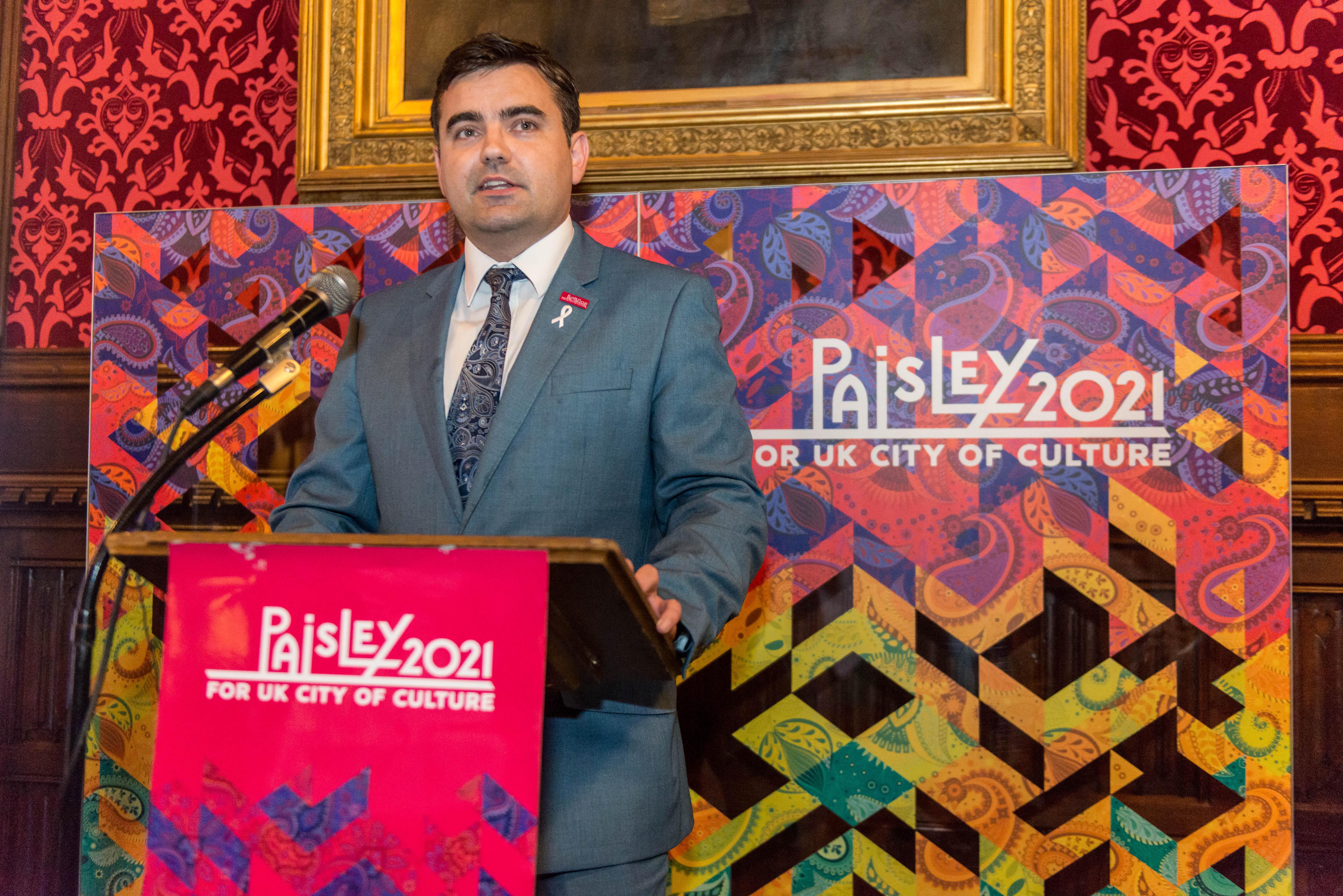 Gavin Newlands on #Paisley2021