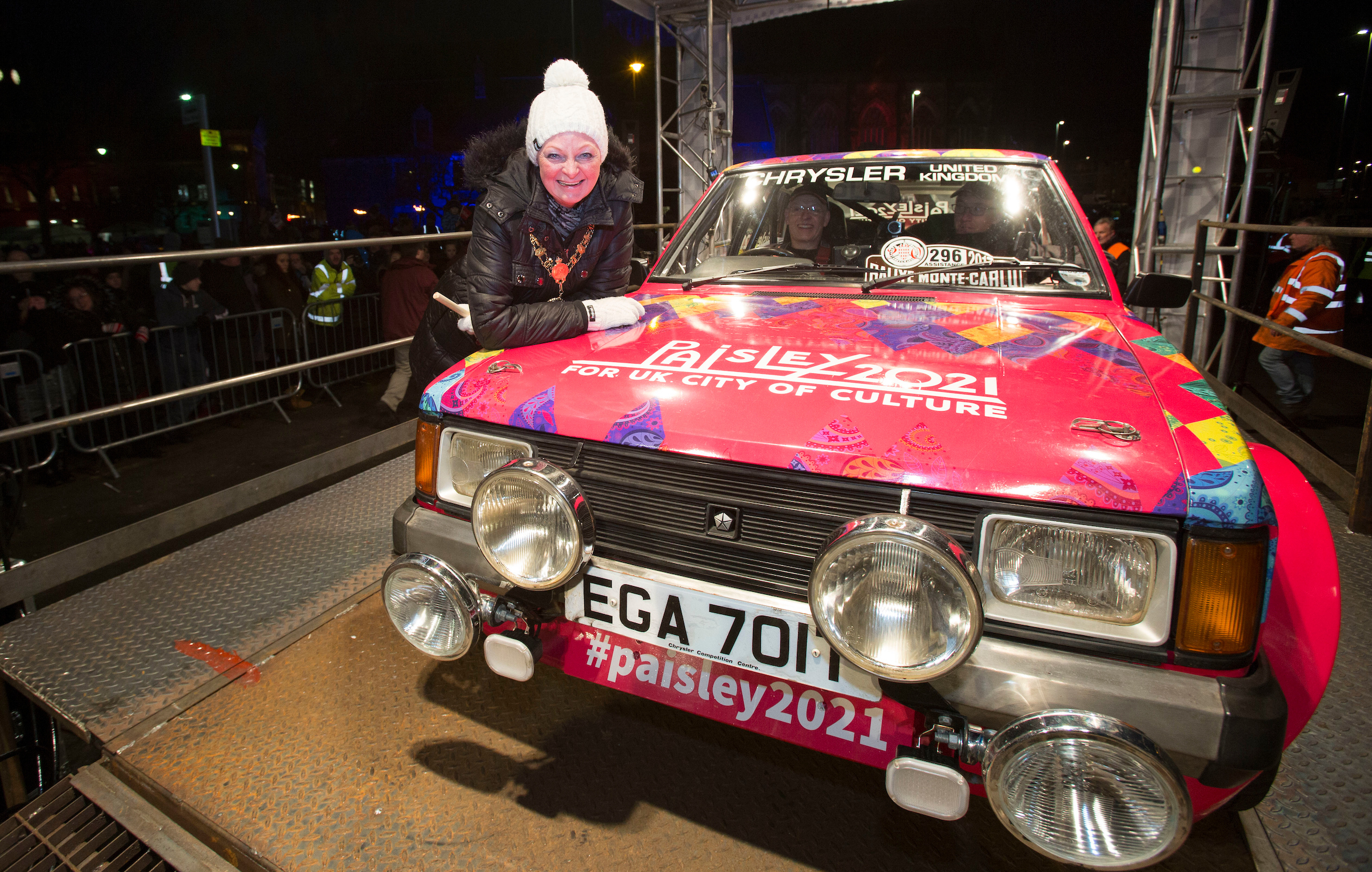 Paisley 2021 car steals the show on epic Monte Carlo trip