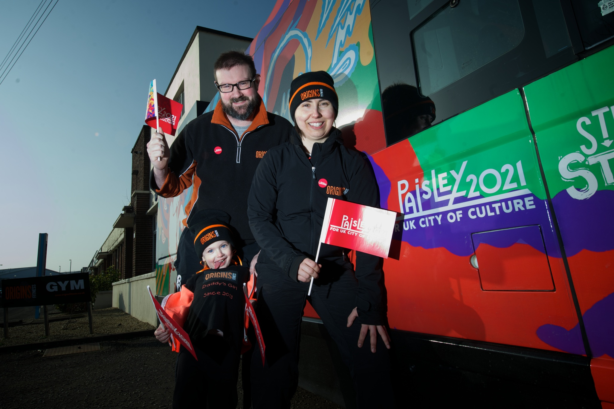Origins Gym offer free membership to Paisley 2021 business backers
