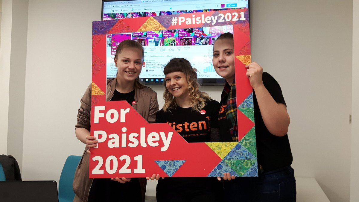 Who Cares? Scotland join up with Paisley 2021 for Twitter Takeover