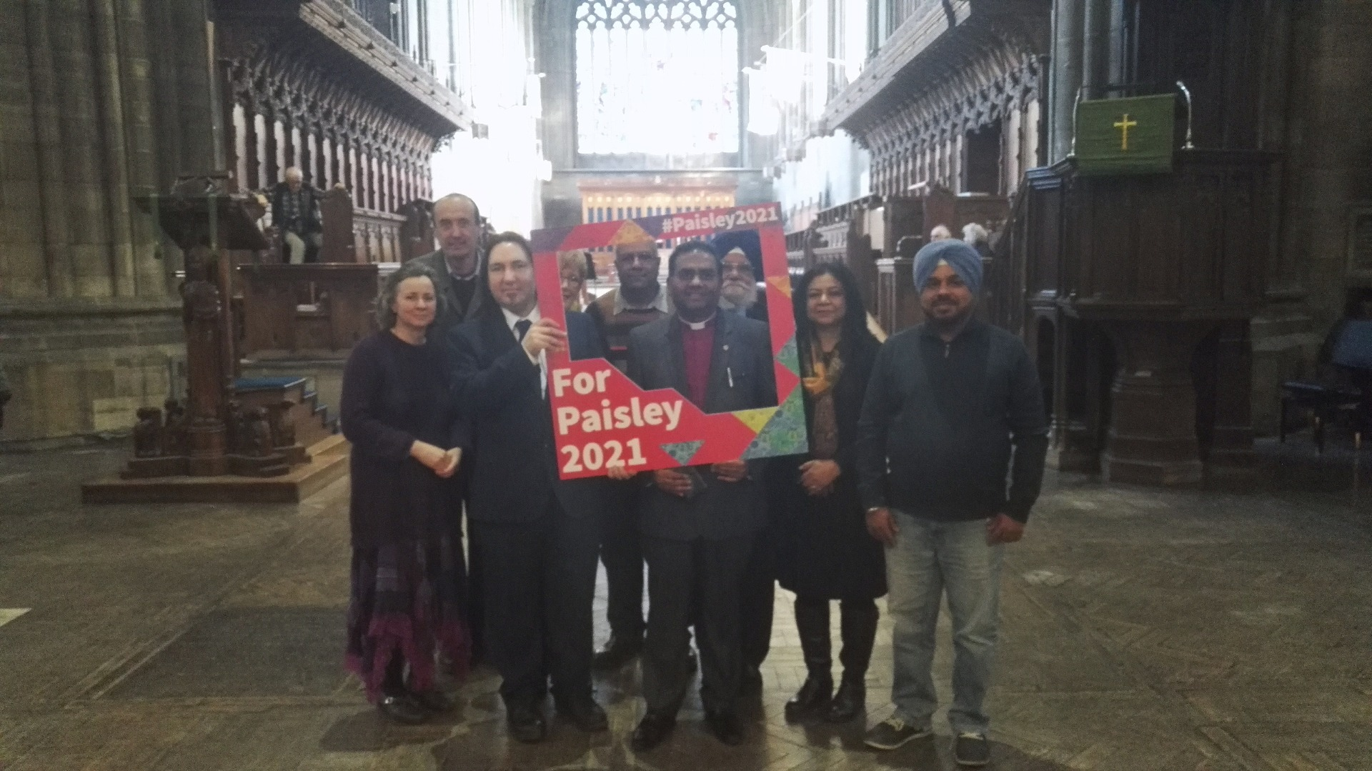 Renfrewshire Interfaith group backs the bid
