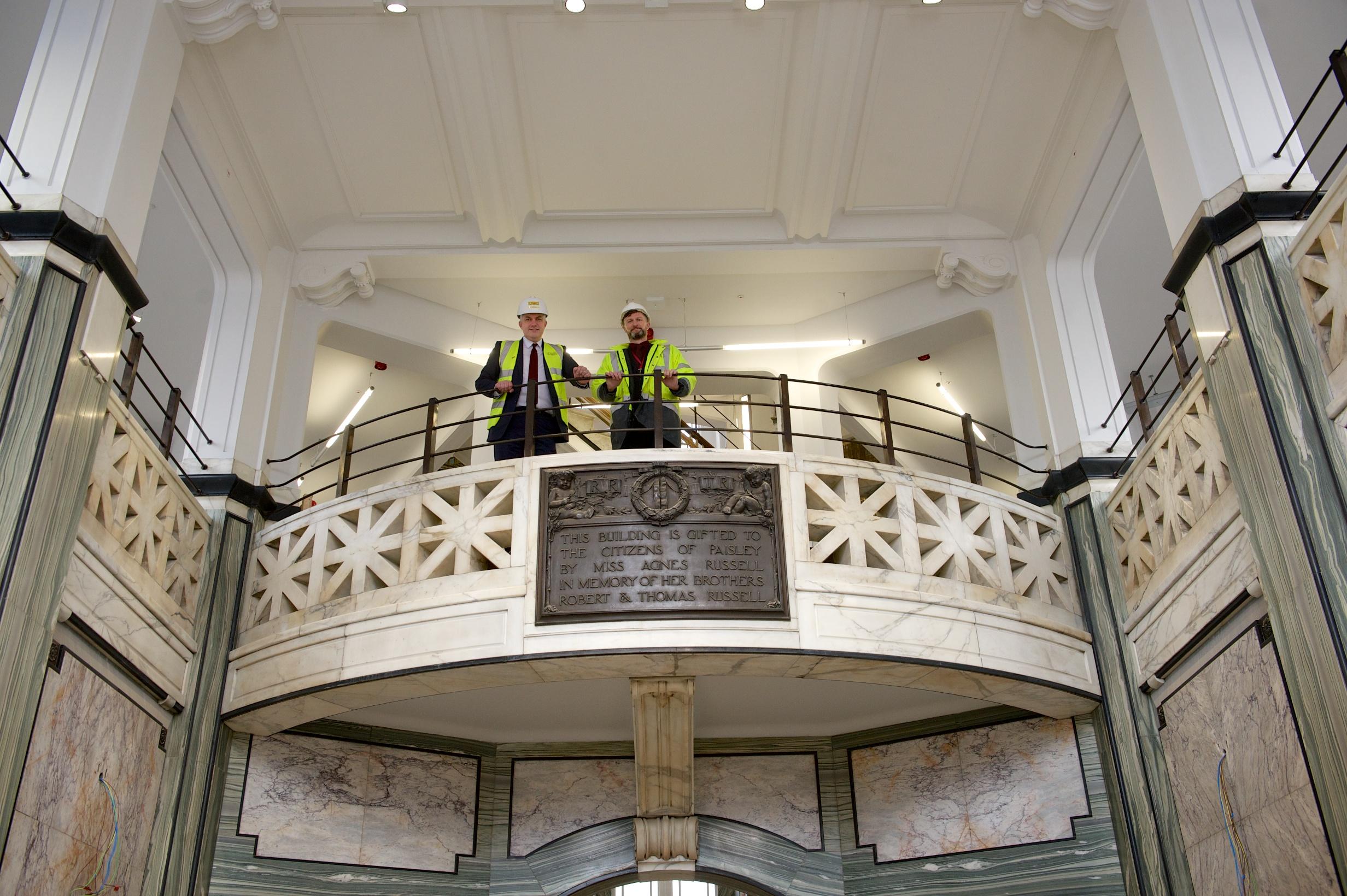 Paisley Town Centre regeneration taking shape