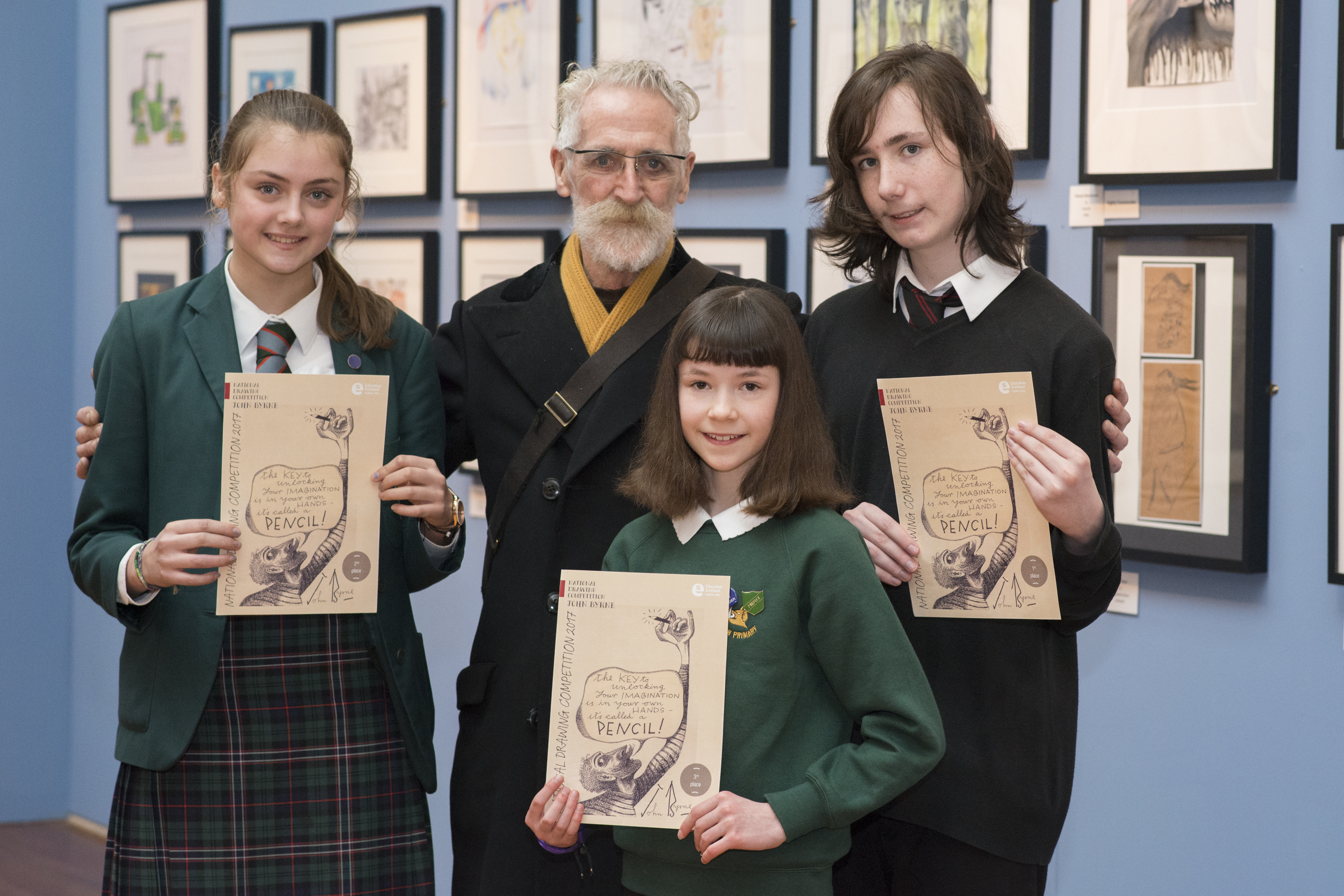 Winner of John Byrne National Drawing Competition revealed