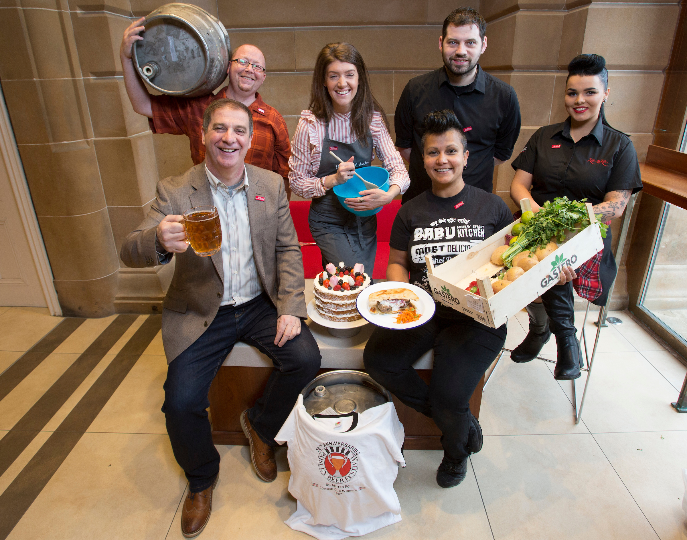 Paisley to celebrate trio of food and drink events