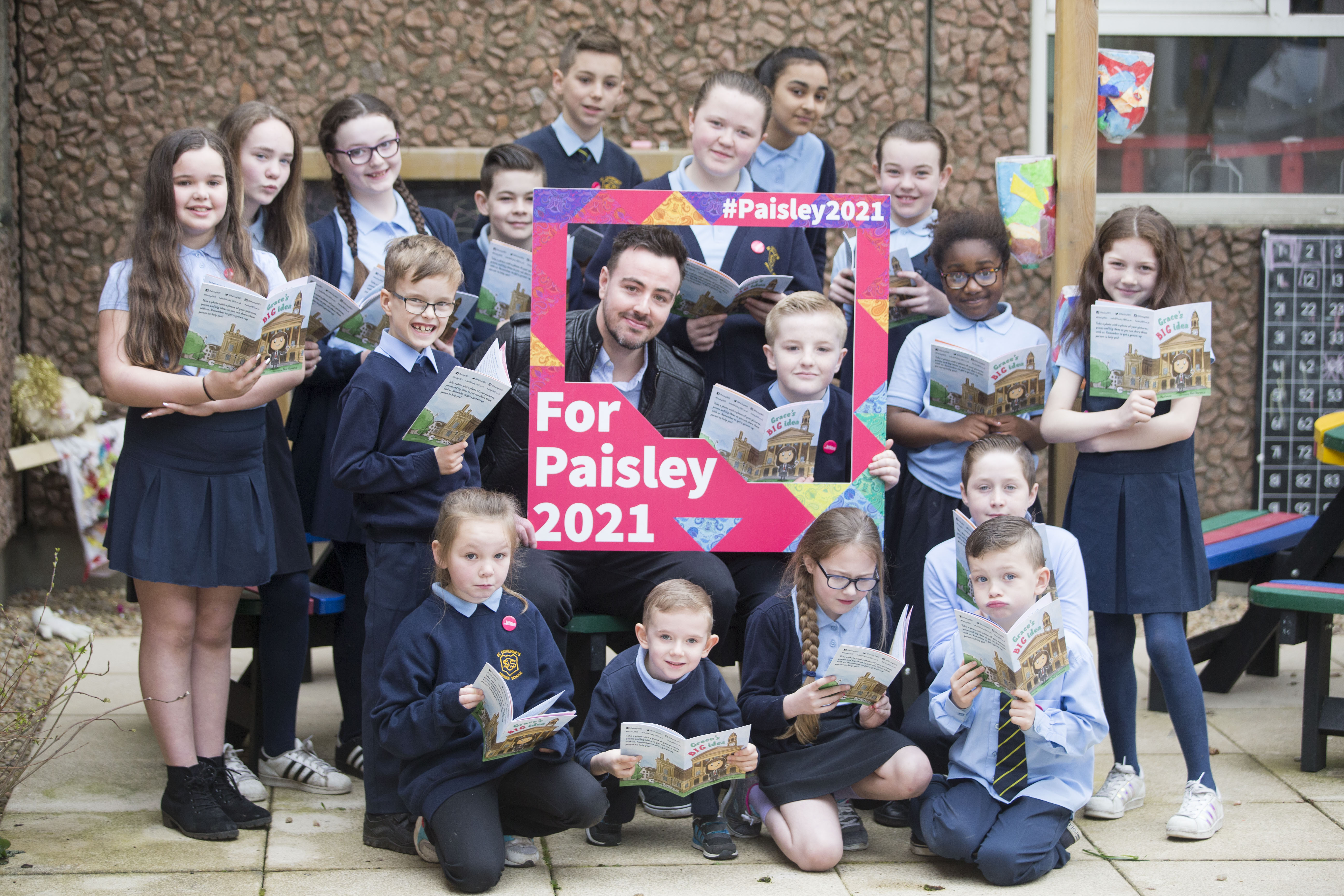 14,000 schoolkids to shape Paisley 2021 bid via special story
