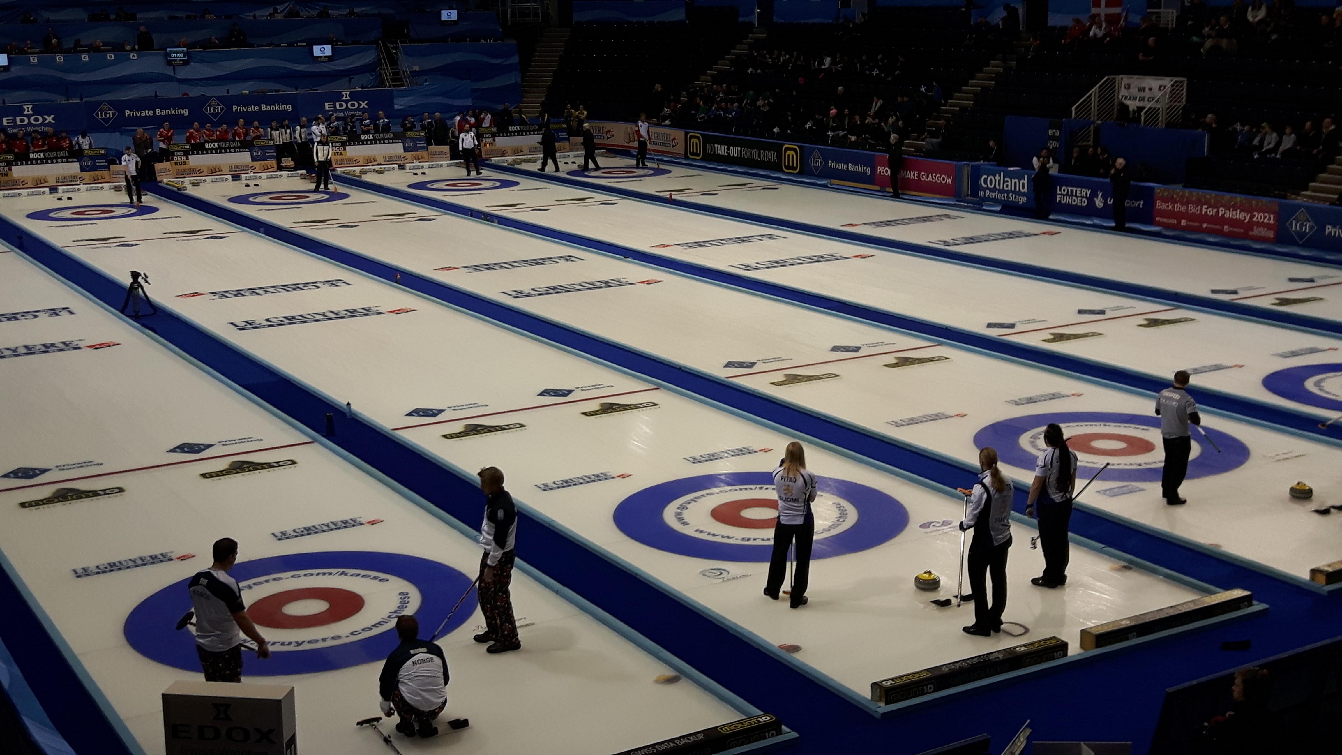 European Curling Championships bring £750,000 boost to Renfrewshire economy