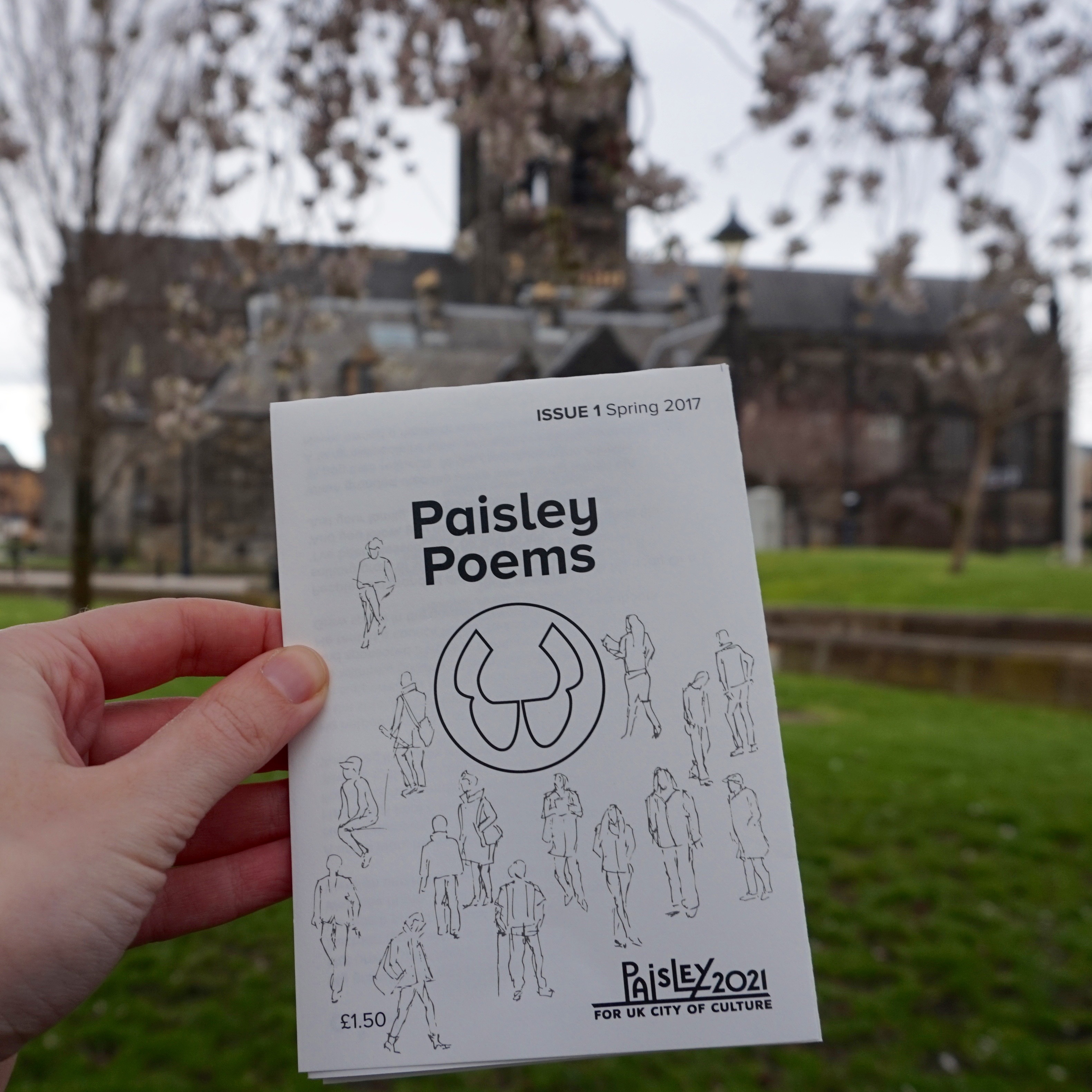 First Edition of 'Paisley Poems' Magazine Released