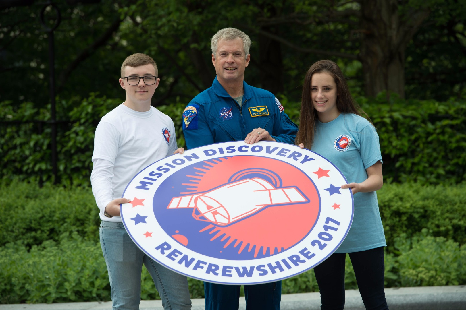 NASA astronaut launches out of this world space school in Renfrewshire