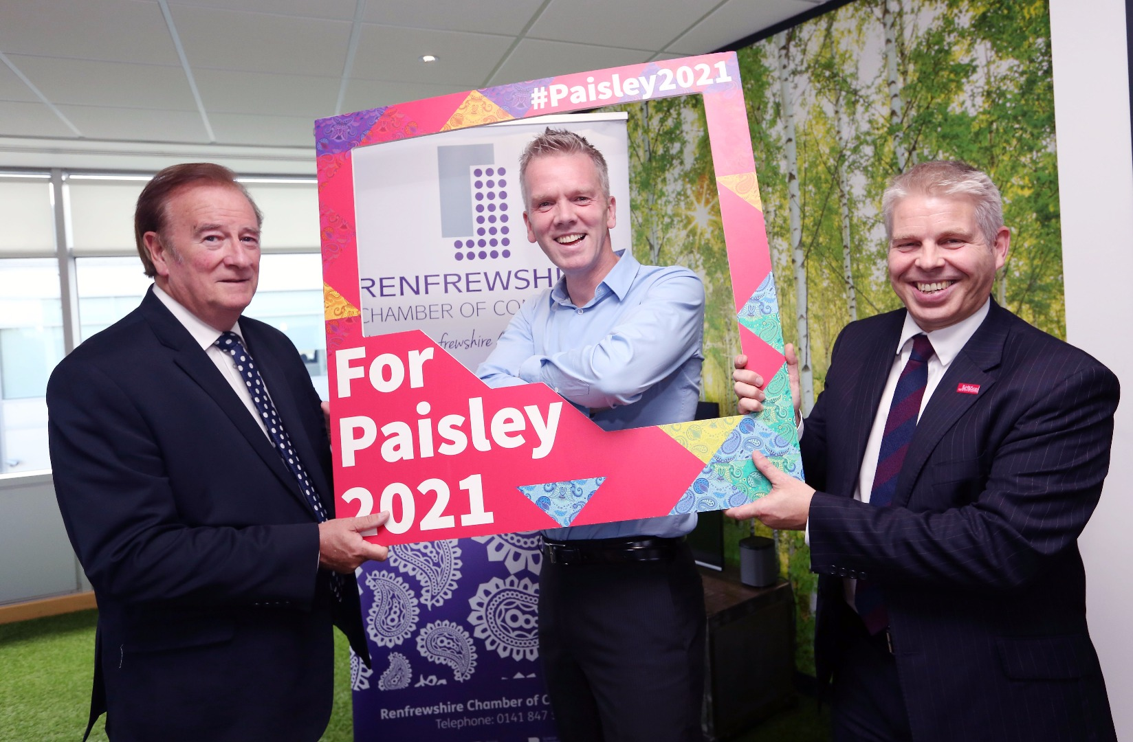 Renfrewshire Chamber says Paisley 2021 bid will be good for business