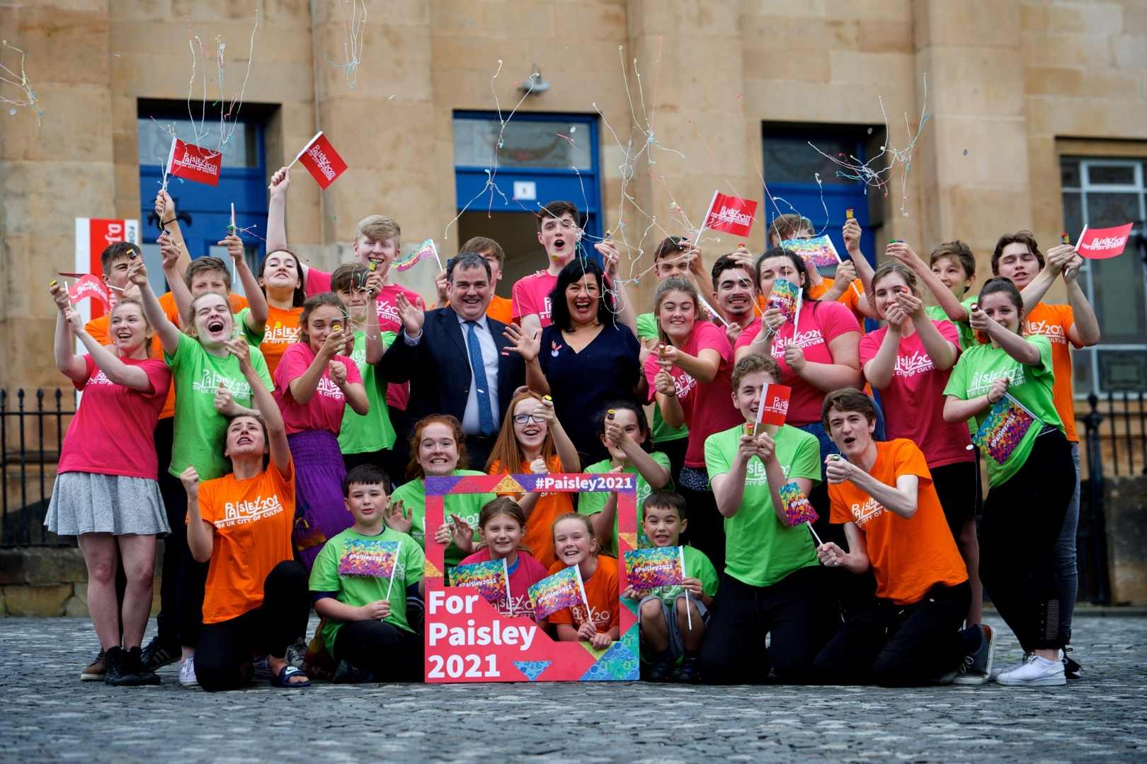 Paisley named sole Scottish bidder on UK City of Culture 2021 shortlist