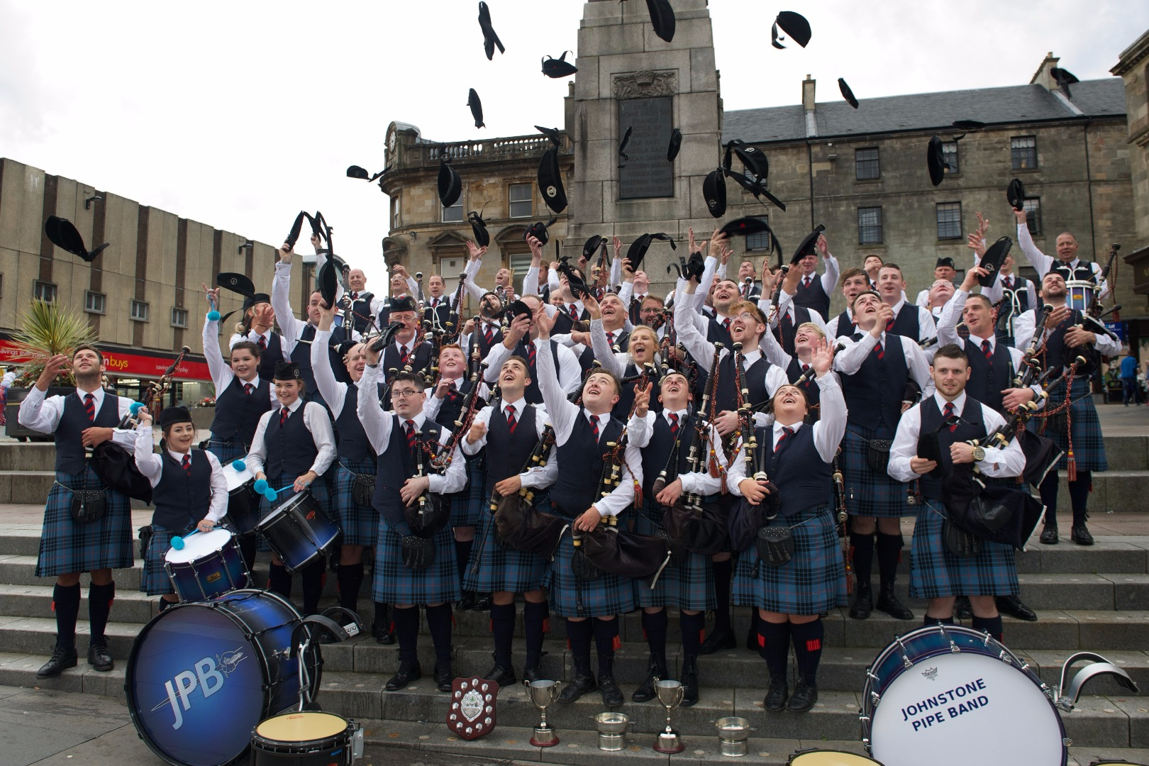 Piping hot talent is heading for Paisley
