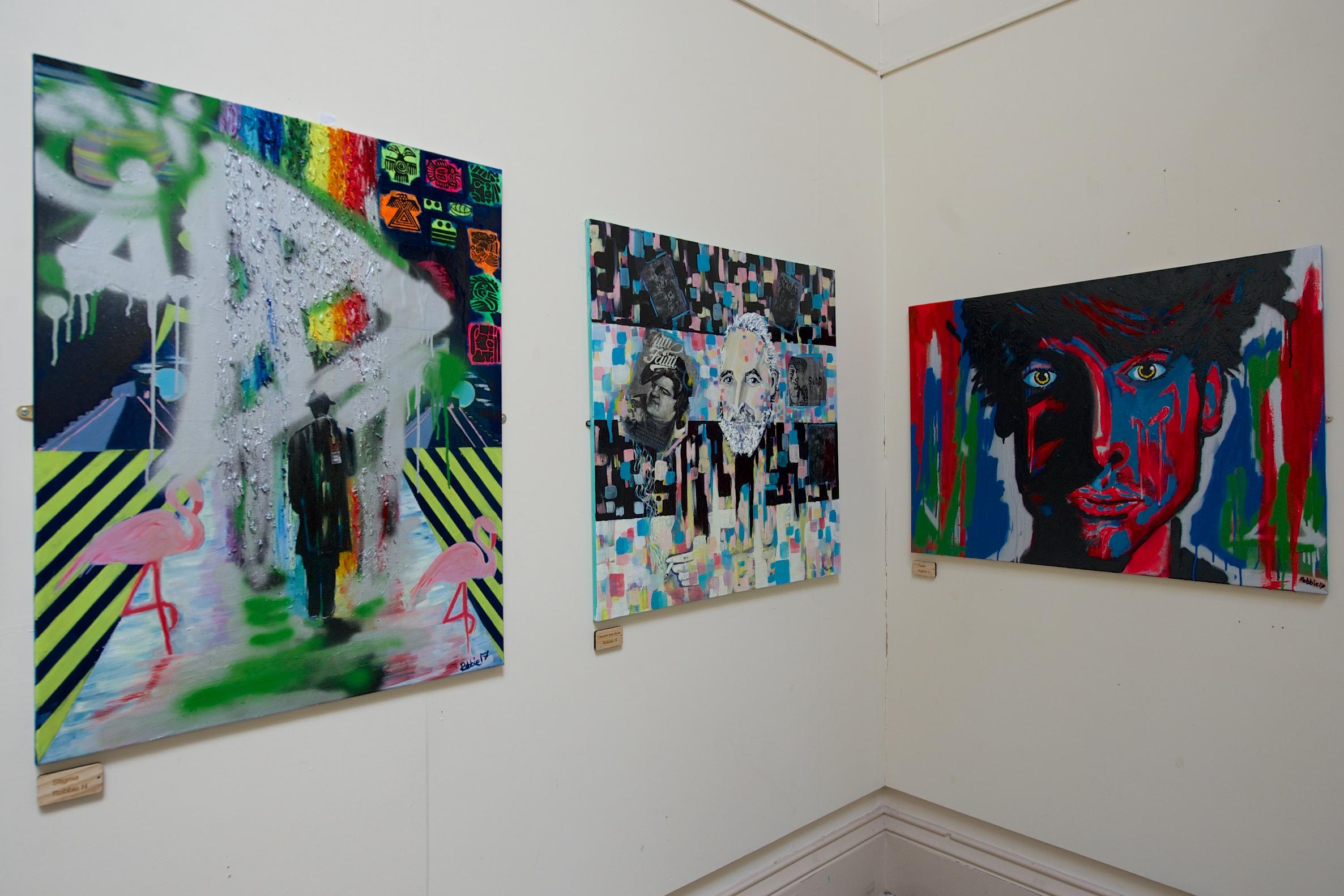 Exhibition of prisoner artwork helps weave new side to Paisley 2021 bid