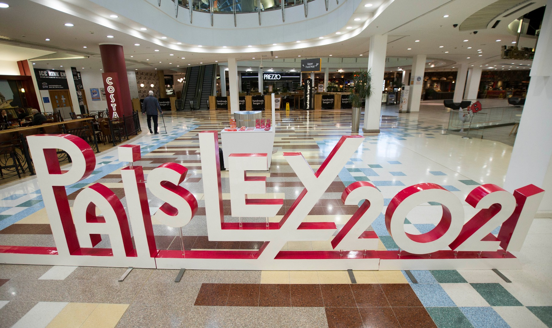 Paisley 2021 set to take over intu Braehead