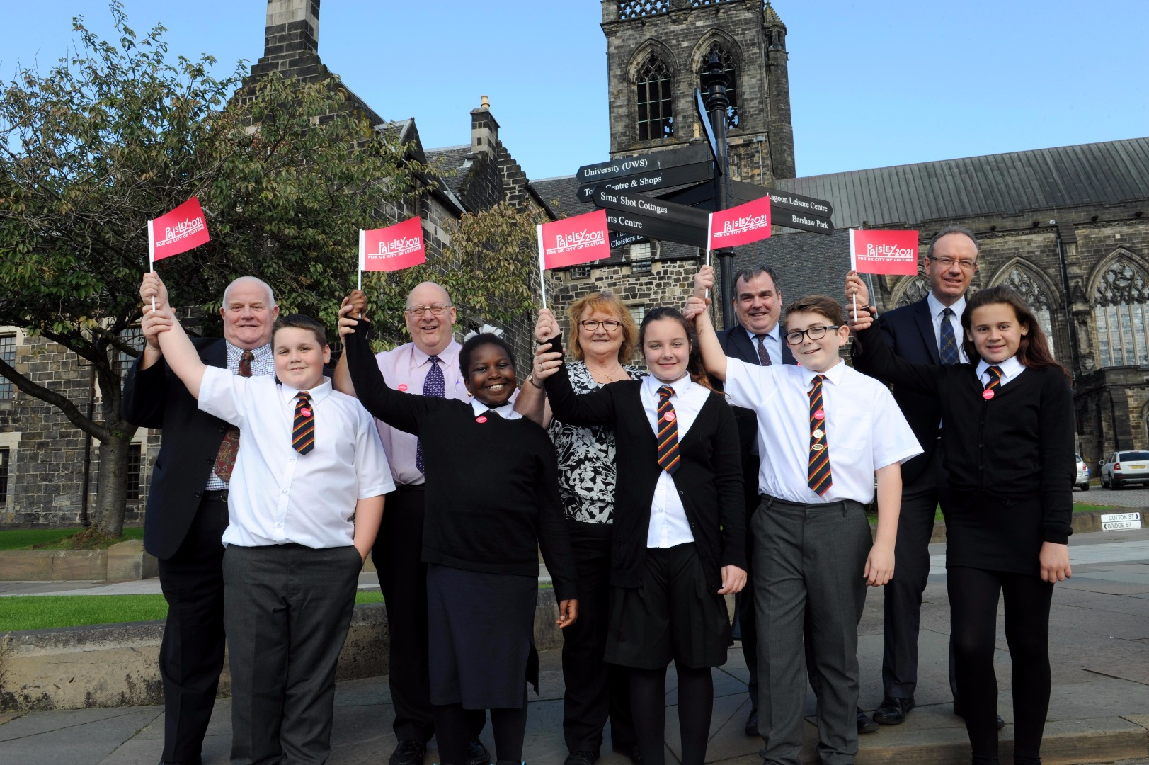Paisley 2021 bid backed by all local party leaders