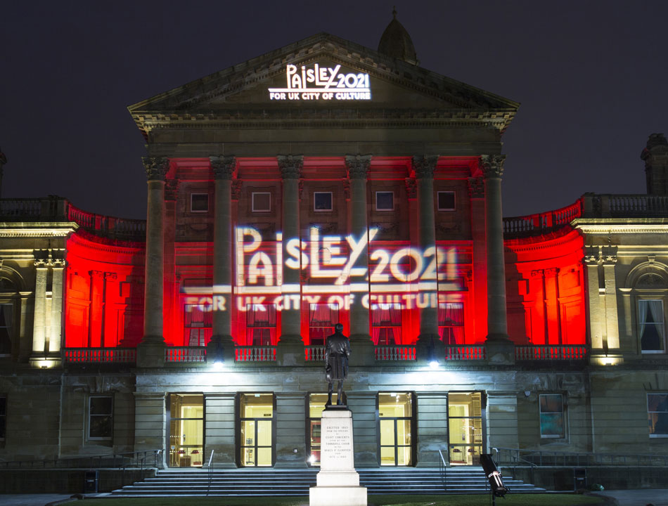 Paisley celebrates two-year anniversary of UK City of Culture 2021 bid launch