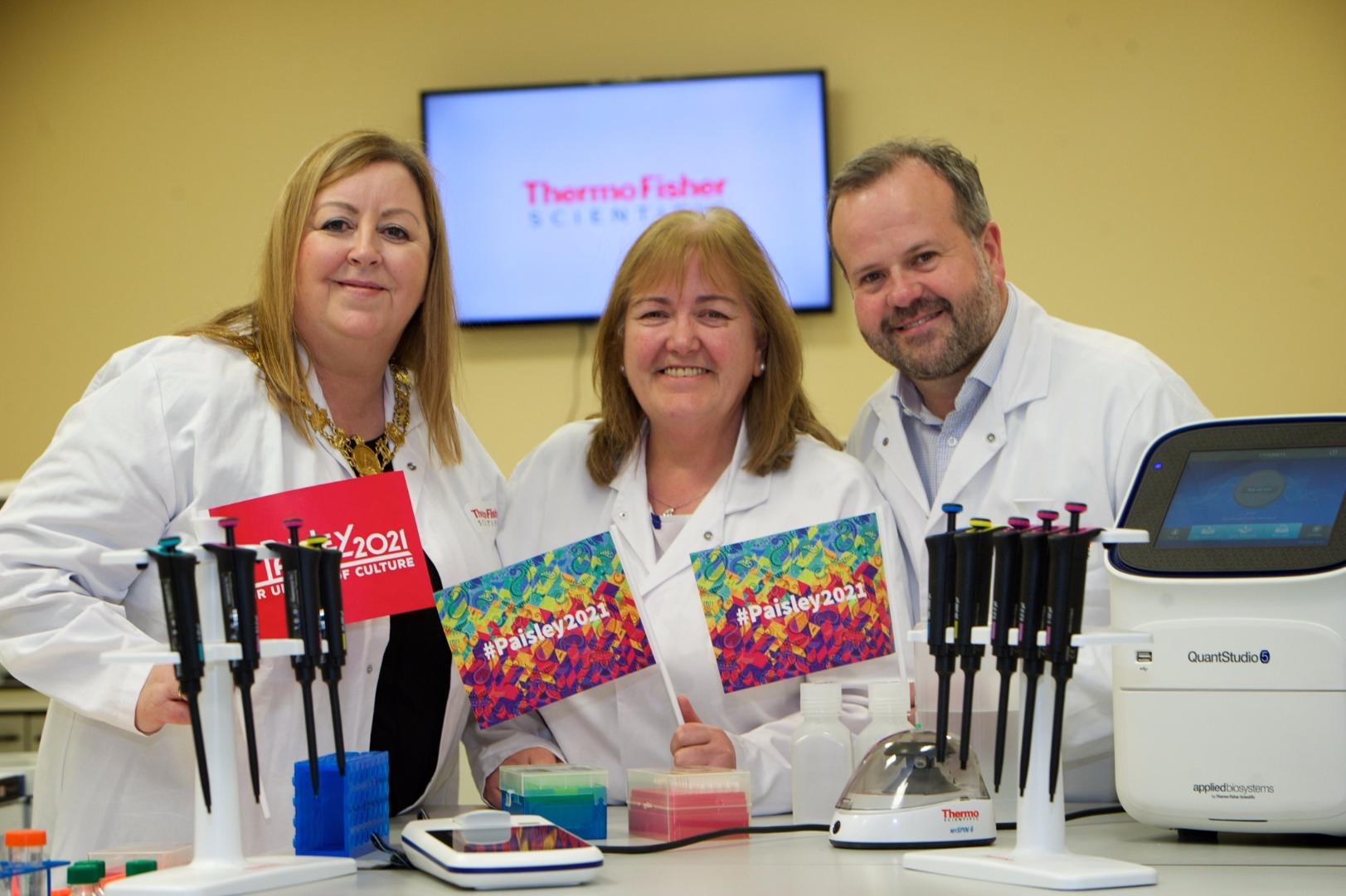 International Life Sciences firm backs Paisley's UK City of Culture 2021 bid