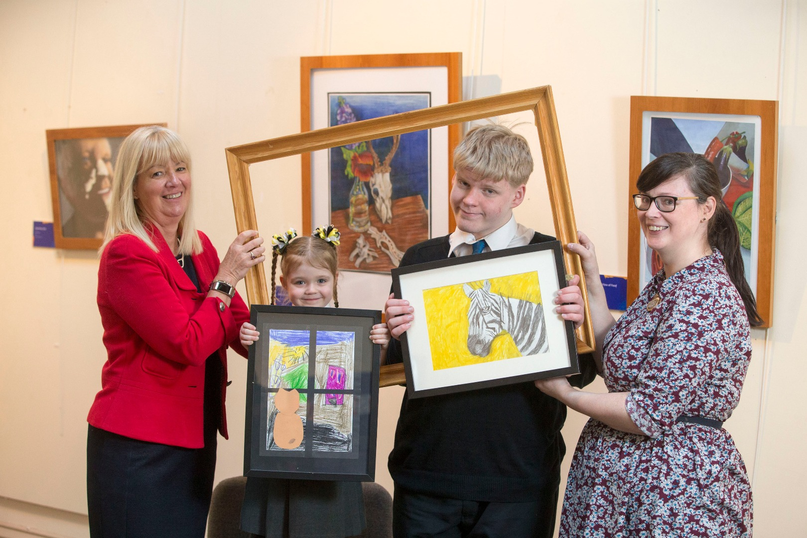Record number of pupils enter Renfrewshire's Inspired Art Competition