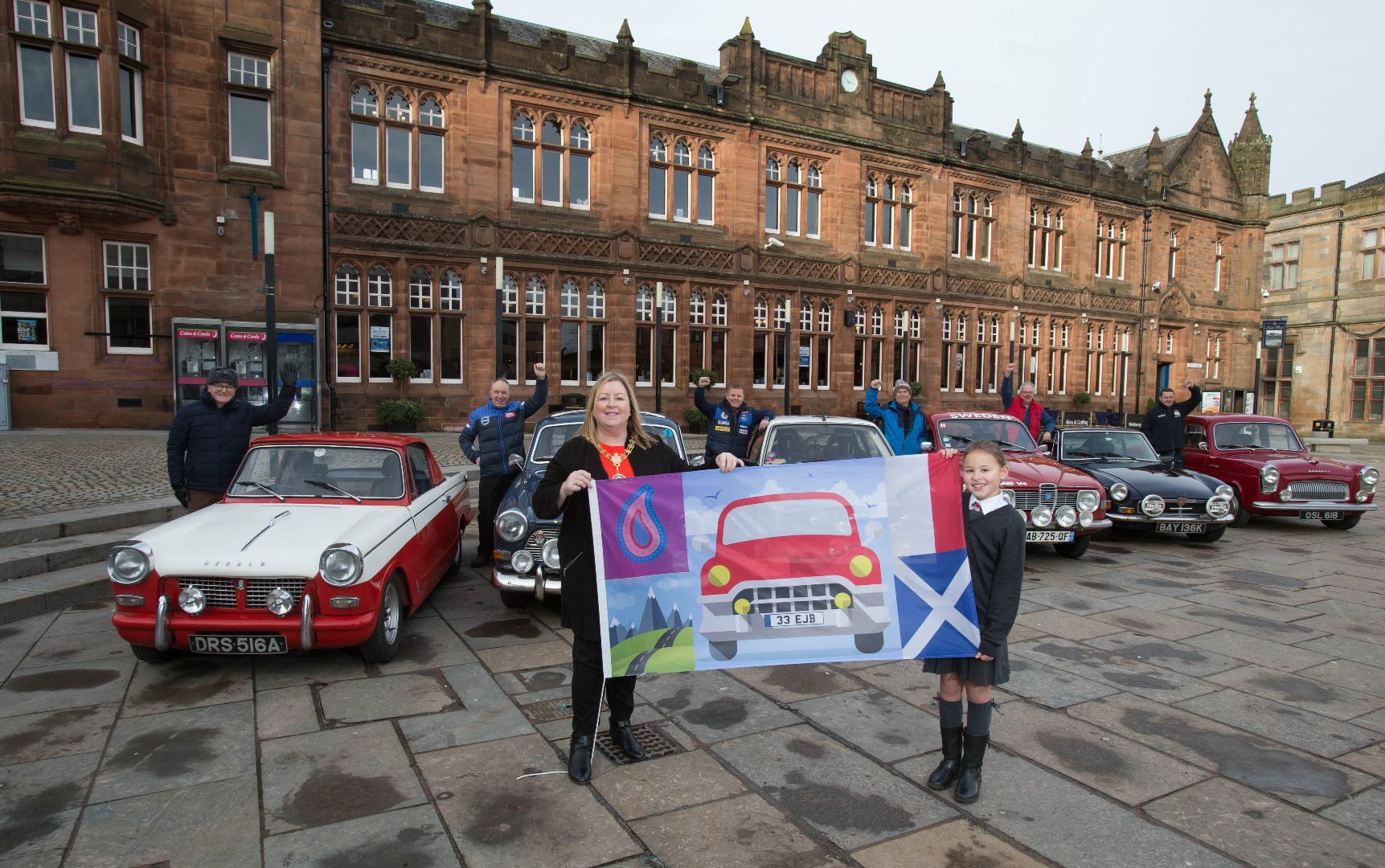 Big crowds expected for Monte Carlo Classic Rally in Paisley