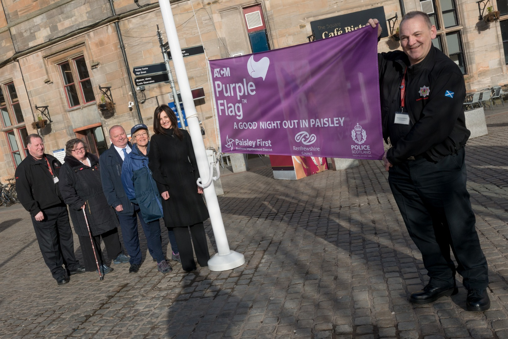 Paisley retains coveted Purple Flag Status